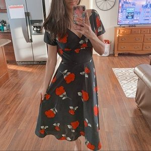 Stop staring   Red/black dress